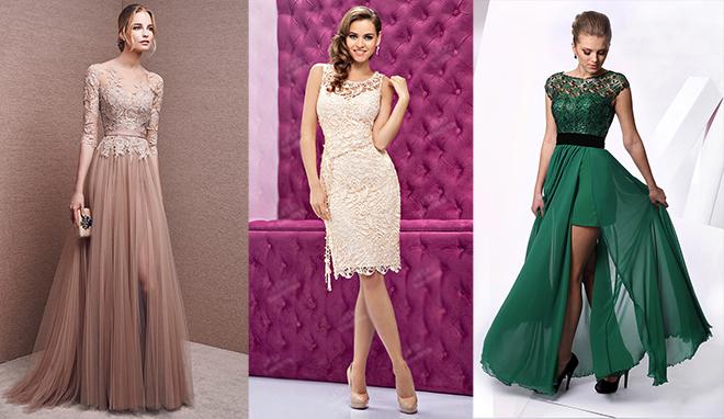 Вечерние платья для встречи Нового года 2018 – самые удачные модели и фасоны