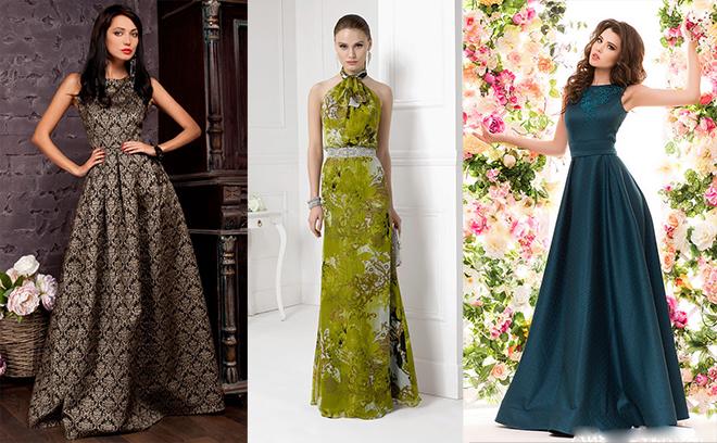 Длинные вечерние платья – идеальный наряд для новогодней вечеринки