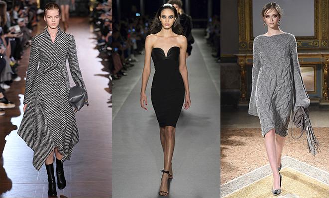 Теплые зимние платья: что будет модно зимой 2017-2018 года