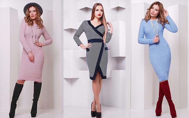 Как носить теплые зимние платья, чтобы выглядеть потрясающе