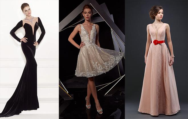Можно ли на выпускной одеть платье с глубоким декольте?