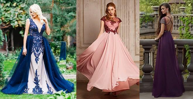 Платье какого цвета выбрать на выпускной