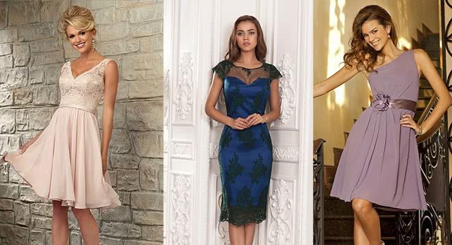 Свадебный бум: какие короткие платья станут идеальным нарядом для гостьи на свадьбе