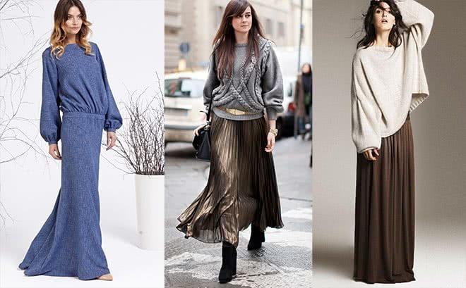 С чем носить зимние платья, чтобы выглядеть шикарно