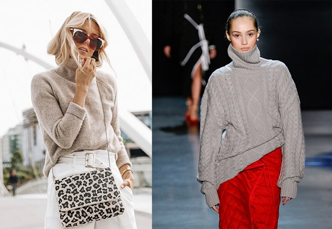 с чем носить свитер?