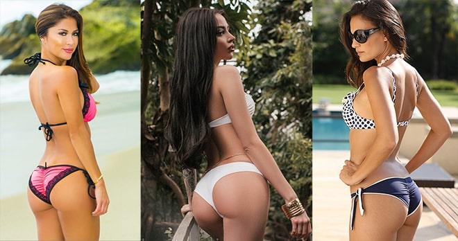 Трусики бразилиана – удачное решение для любого купальника