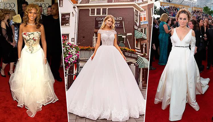 свадебное платье на выпускной