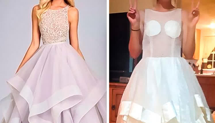 можно ли покупать платье на выпускной без примерки