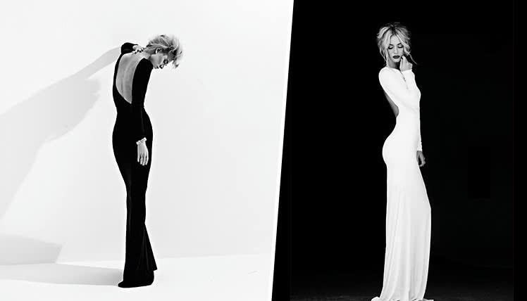 можно ли пойти на выпускной в черном или белом платье, фото образов