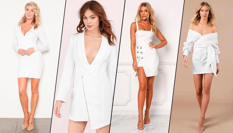 можно ли пойти на выпускной в коротком белом платье