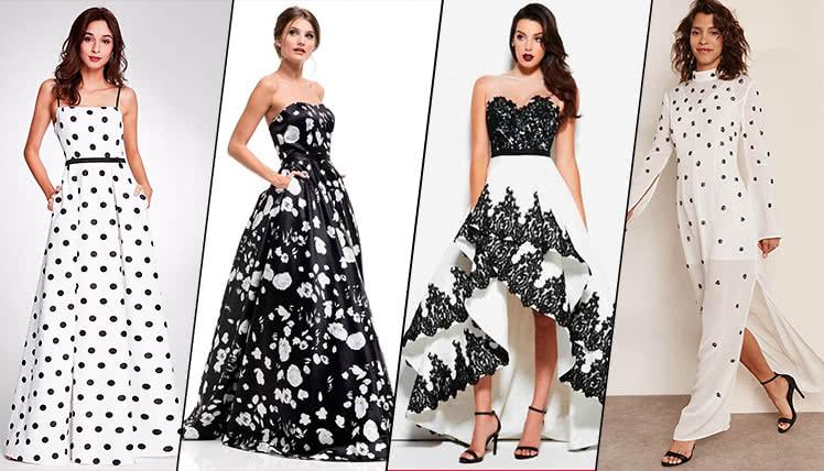 можно ли пойти на выпускной в черно-белом платье