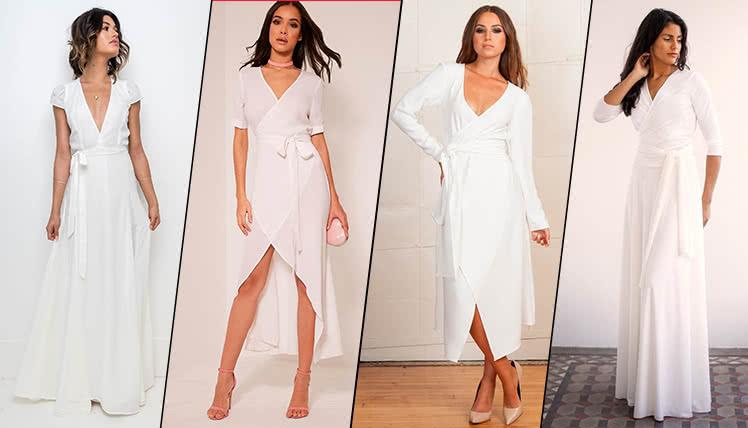 идеи образов для выпускного с белым платьем