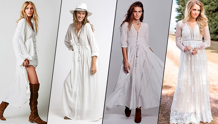 можно ли пойти на выпускной в длинном белом платье