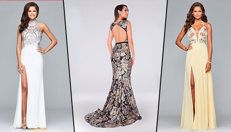 самые трендовые платья на выпускной 2019, фото