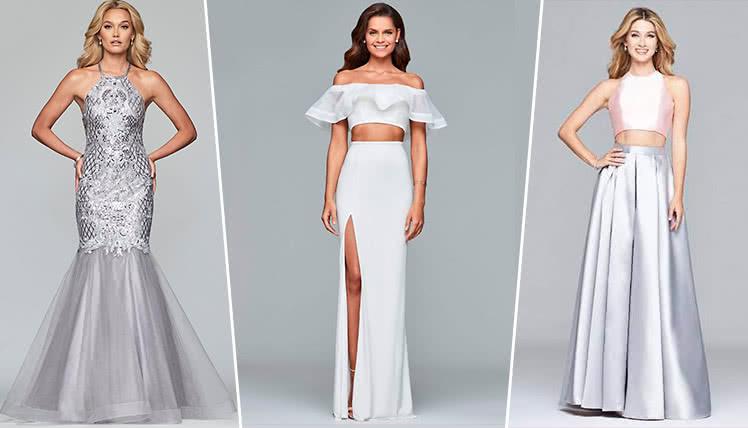 самые модные длинные платья на выпускной 2019