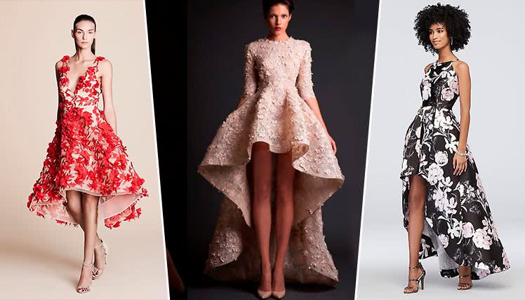 самые модные платья на выпускной 2019, фото