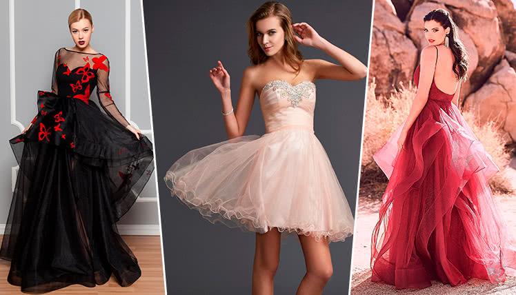модные платья на выпускной 2019, фото и идеи образов