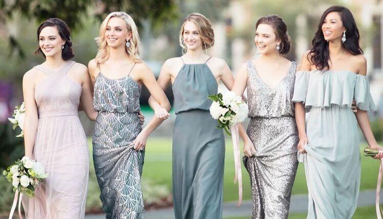 как выбрать платье для подружки невесты?