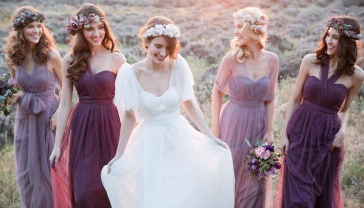 20 идей платьев для подружек невесты