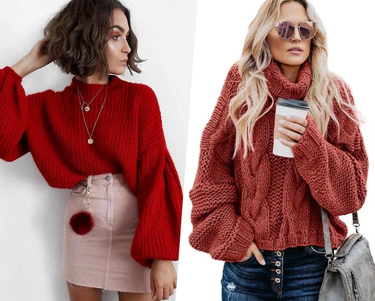 как выбрать свитер для типа фигуры груша