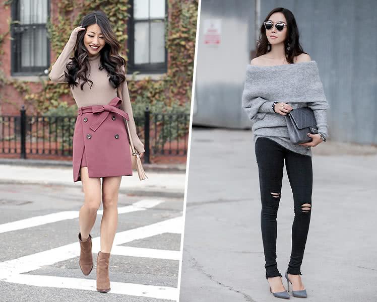 свитер для типа фигуры прямоугольник