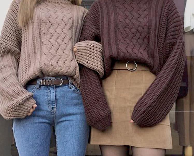 как выбрать свитер для фигуры прямоугольник