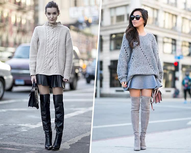Как выбрать свитер для фигуры перевернутый треугольник