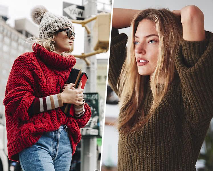 как выбрать свитер по фигуре, фото