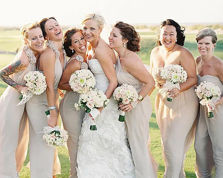 Как выбрать платье подружки невесты