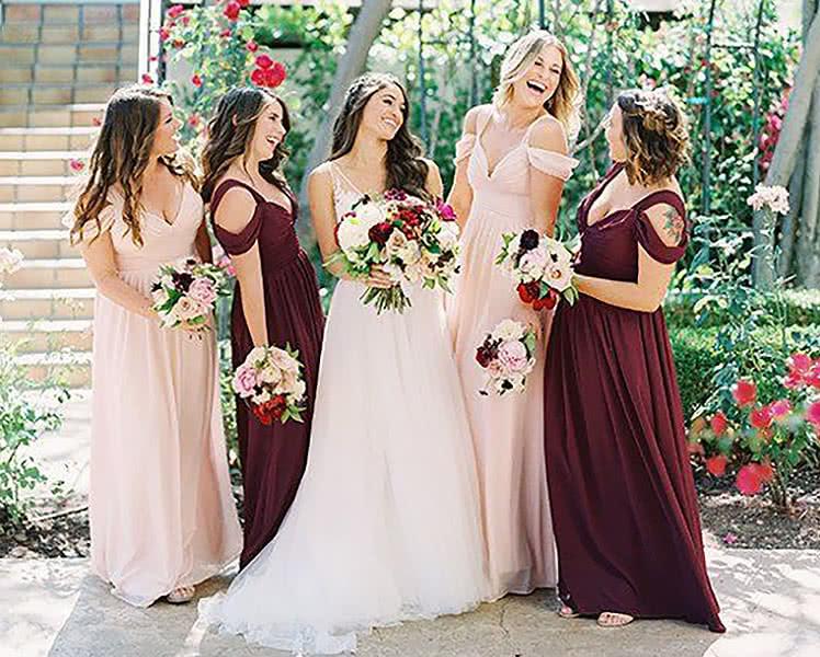 Неудачные платья для подружки невесты