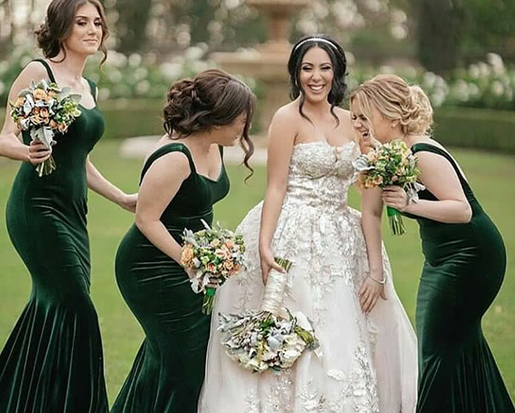 Выбрать платье подружки невесты для полных девушек