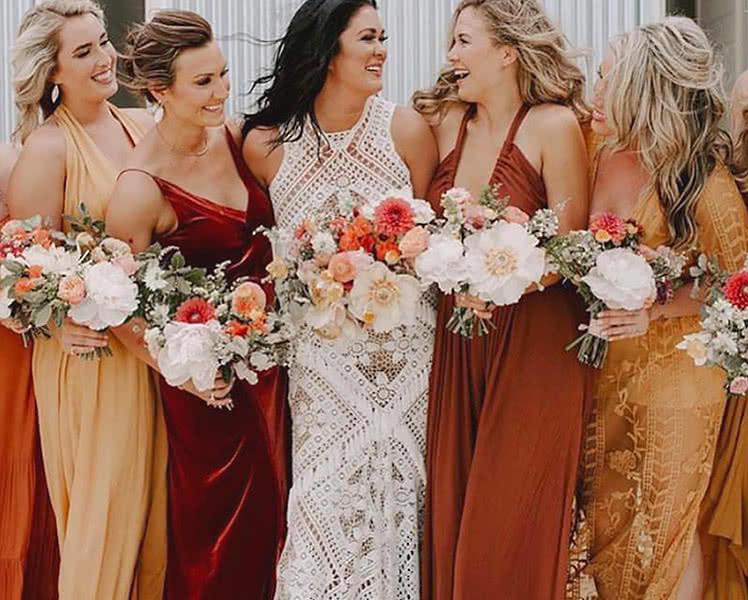 советы как выбрать платье для подружки невесты