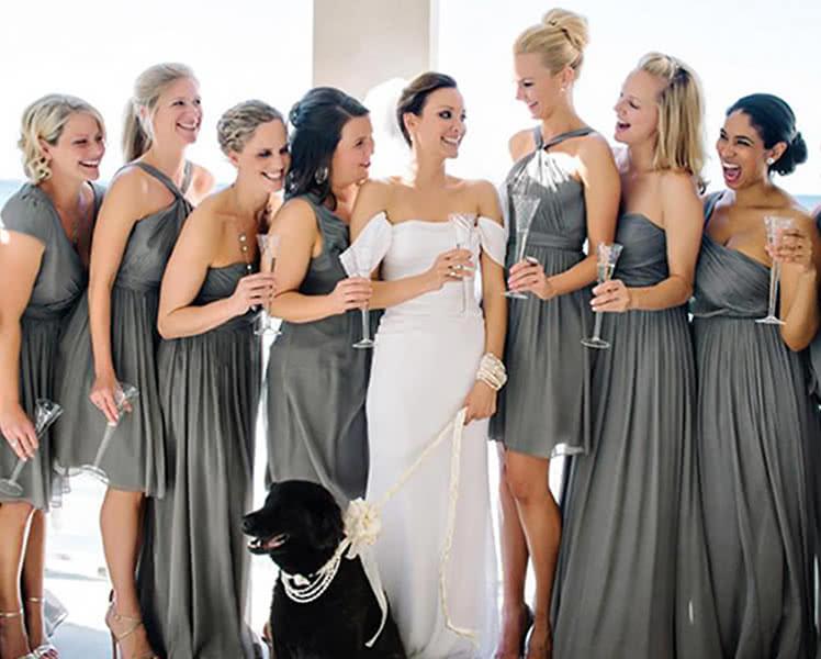Какое вечернее платье выбрать для подружки невесты