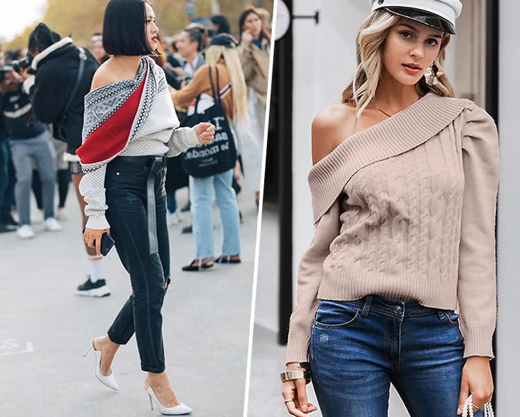 самые модные женские свитера и кофты, фото