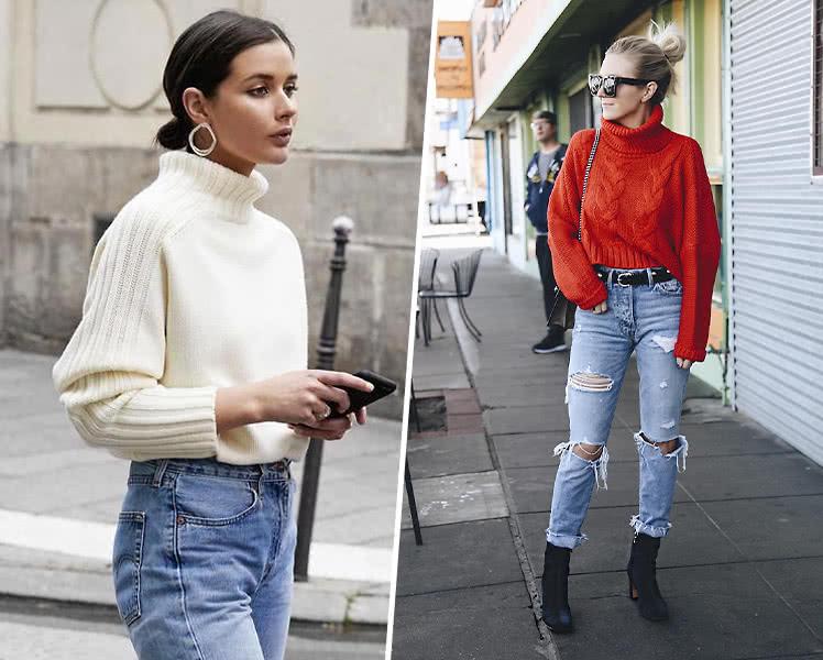 модные женские укороченные свитера, фото 2019