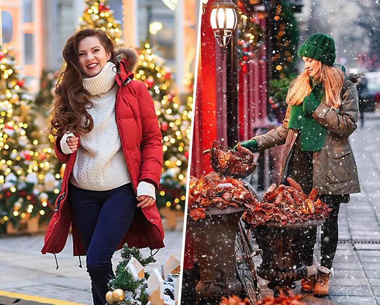 Какую обувь подобрать под новогоднее платье? Фото новогодних образов
