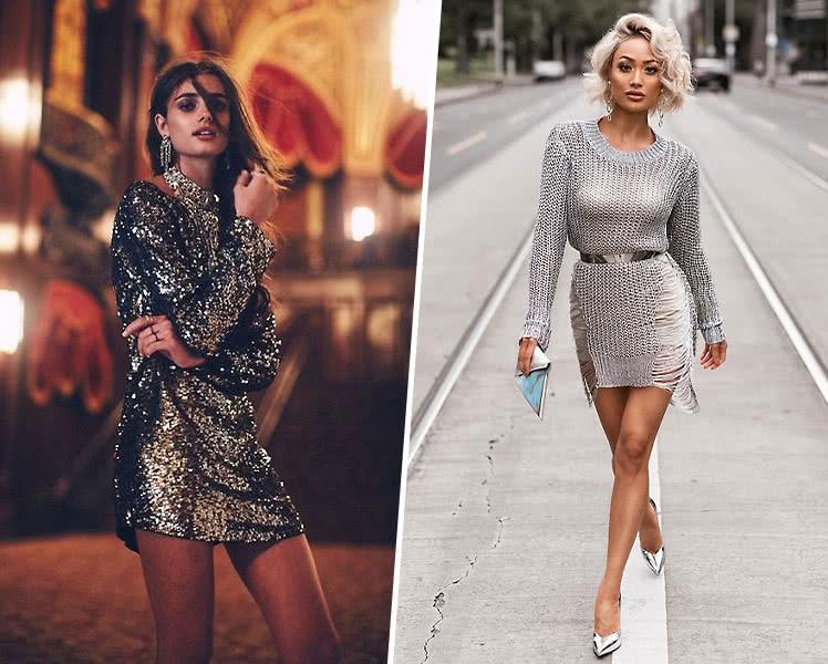 в каком платье встречать новый год 2020