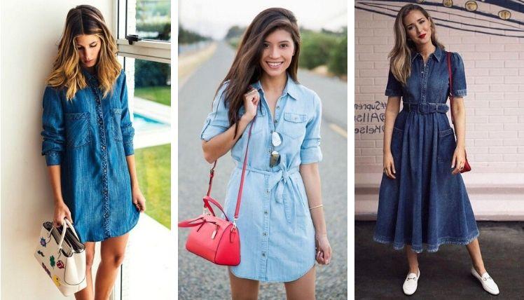 Актуальные фасоны платья-рубашки