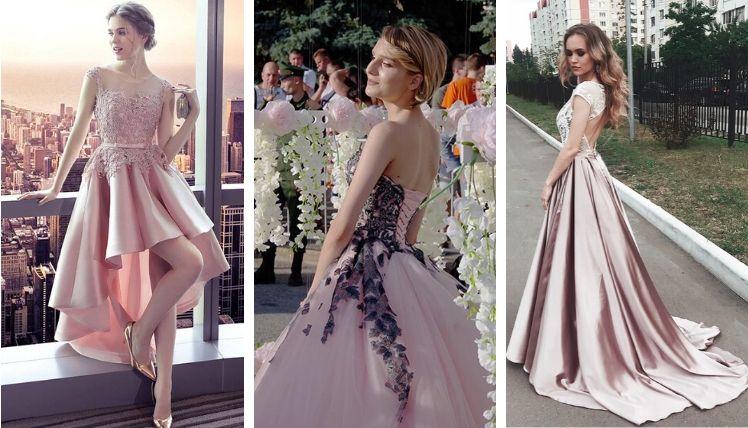 Самые трендовые платья на выпускной 2021