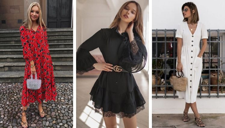Фасоны летних платьев 2021
