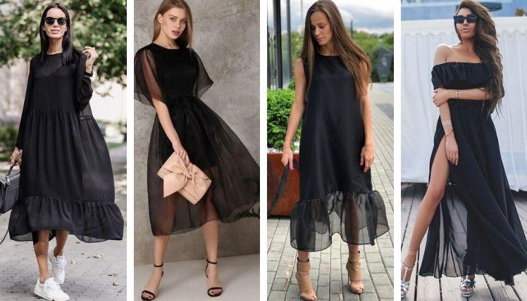 Фасоны летних платьев