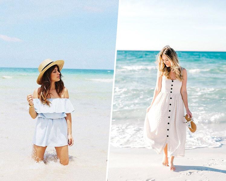 идеи для фотосессии летом на пляже