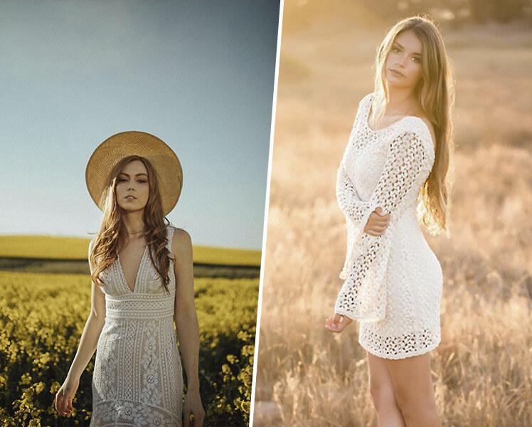 оригинальные идеи для фотосессии летом на природе