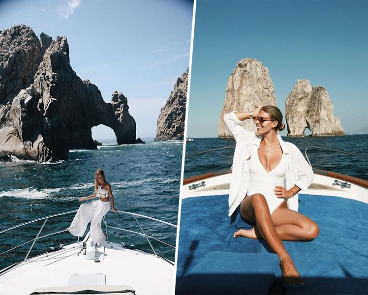 идеи для фотосессии на яхте
