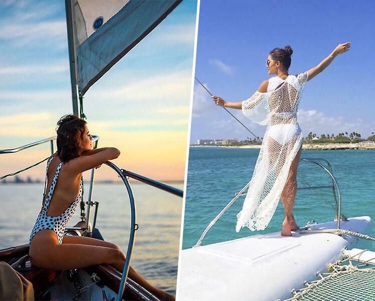 идеи для фотосессии летом на яхте
