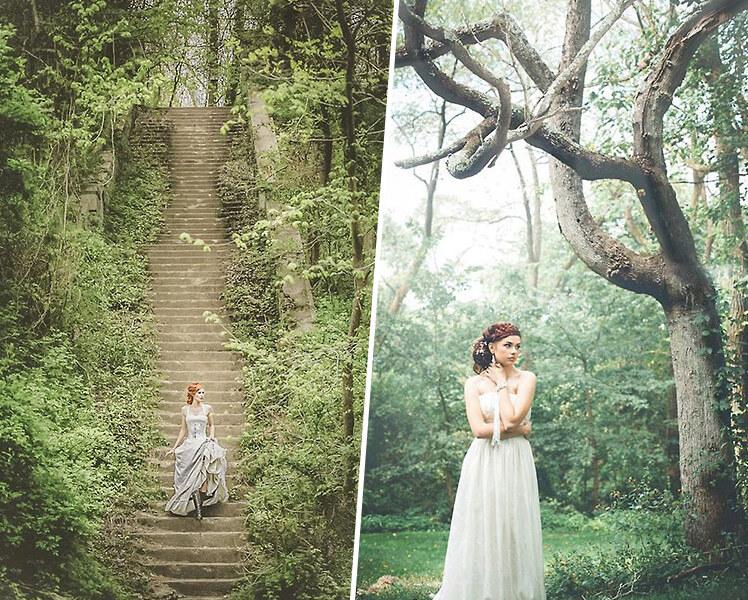 идеи для фотосессии летом в лесу