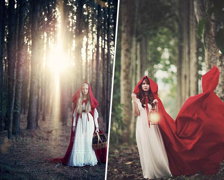 идеи для фотосессии в лесу для девушек
