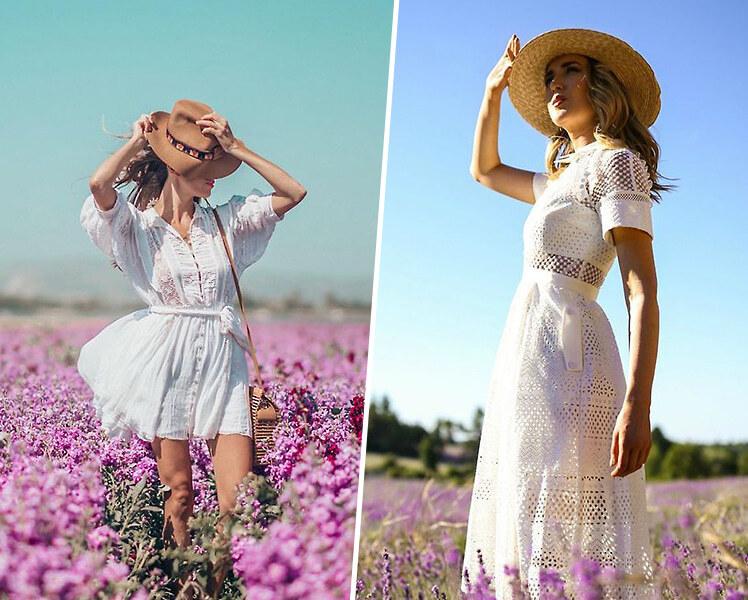 идеи для фотосессии летом в стиле прованс