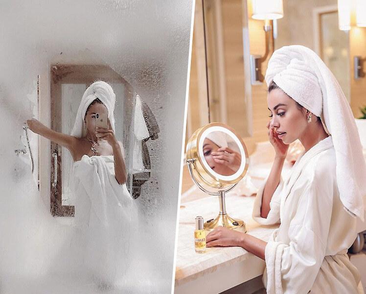 интересные идеи для летней фотосессии в ванной для девушек