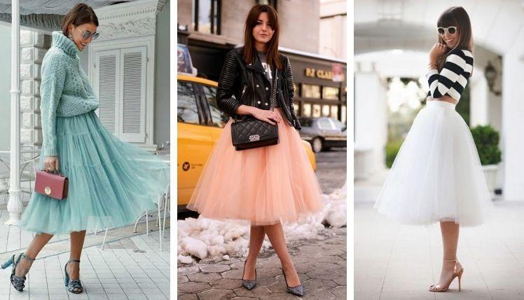 С чем носить разные фасоны юбок?